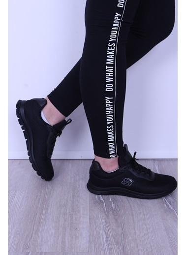 Derigo Derigo 8349 Termo Tabanlı Textill Malzeme Kadın Spor Ayakkabı Siyah